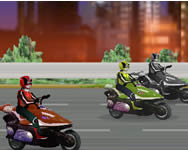 Power Rangers moto race j�t�k