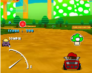 Mario kart flash game online játék